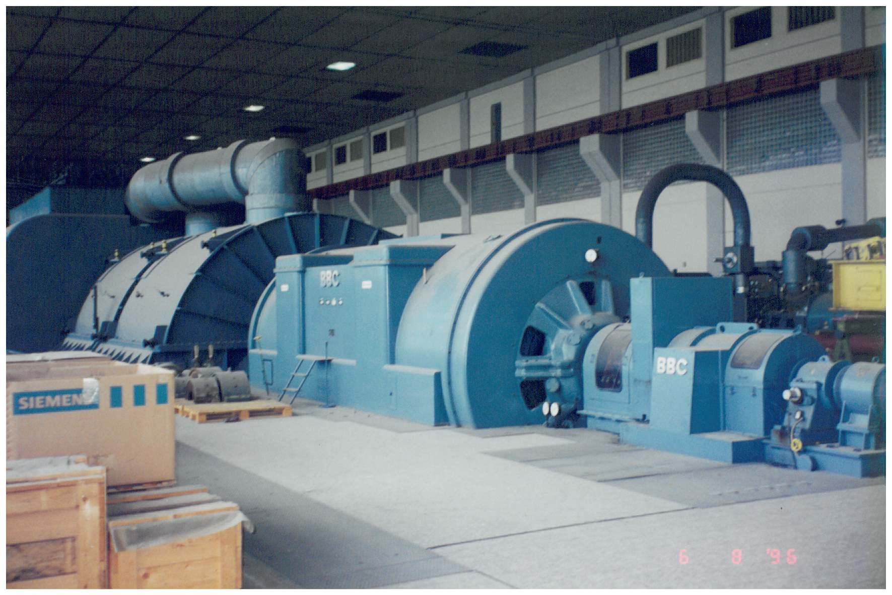 Generator and Steam Turbine