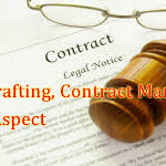 Contract Drafting, Contract Management & Legal Aspect