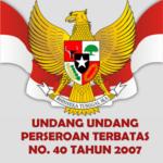 Pemahaman UU NO.40 Tahun 2007 Tentang Perseroan Terbatas